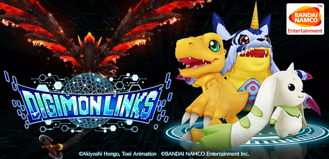 Smartphone a chi? Digimon Links