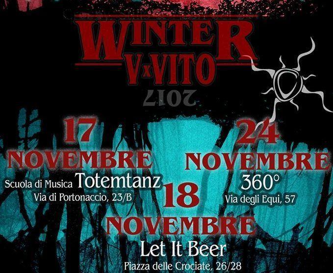 Winter V per Vito. La Musica nel cuore.