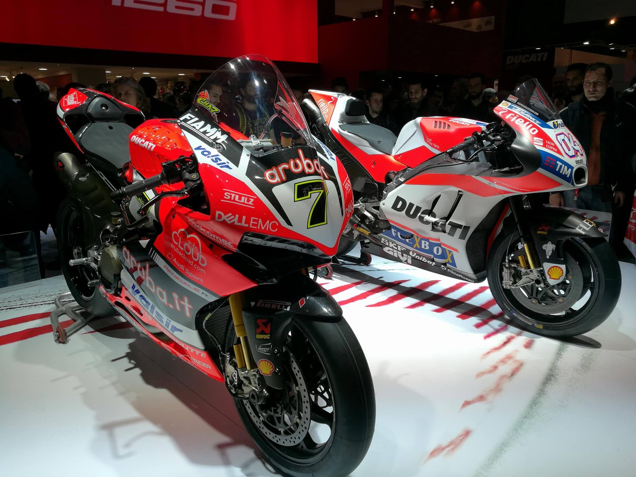 Eicma 2017: Ducati e Honda regine del salone
