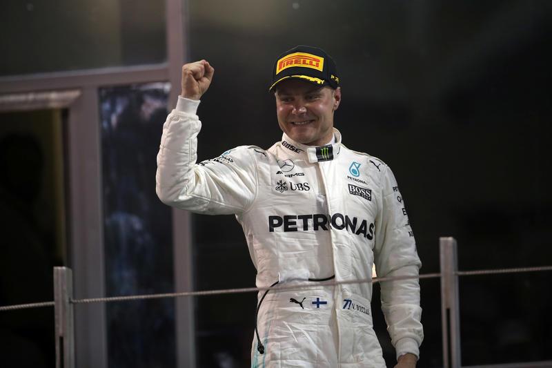 GP Abu Dhabi: a Bottas la vittoria di chiusura della stagione