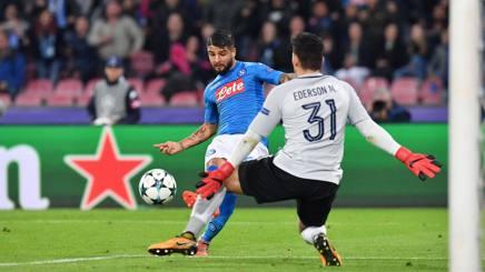Manchester City troppo forte, si fa dura per il Napoli
