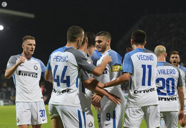 L'Inter vola a Cagliari. Icardi su di giri, realizza due gol e affonda i sardi