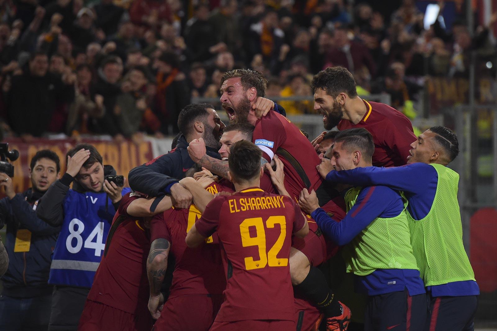 Il Derby è giallorosso: Roma-Lazio 2-1.