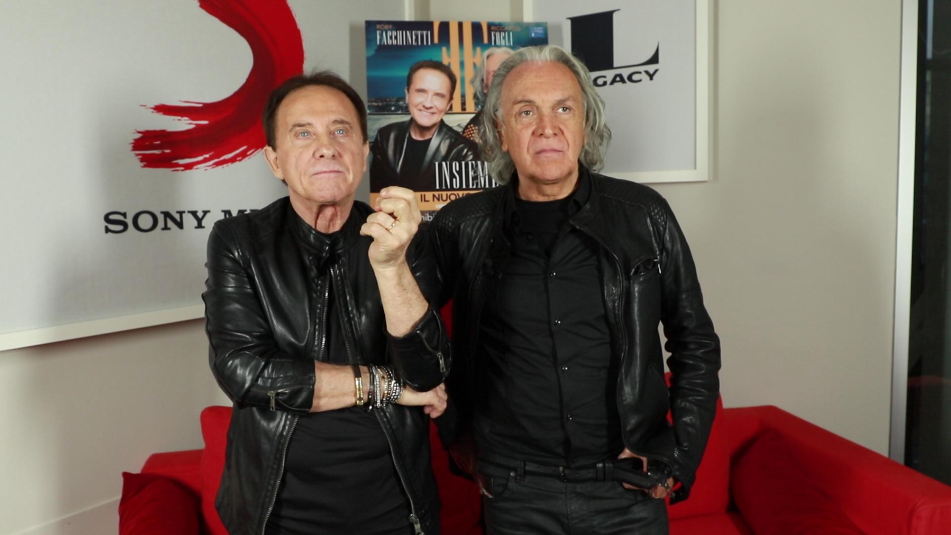 """Intervista a Roby Facchinetti e Riccardo Fogli: """"Insieme, la parola che da sempre ci accompagna"""""""