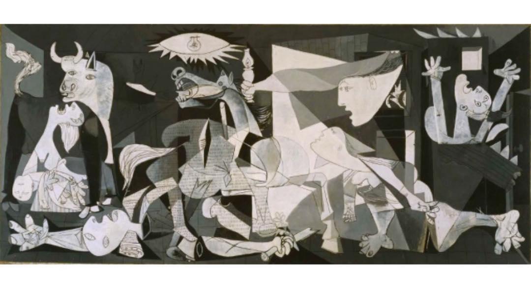 Guernica in mostra in Senato per i 70 anni della Costituzione