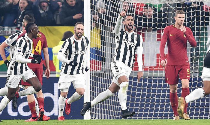 La Roma si sveglia tardi: la Juventus vince 1 – 0