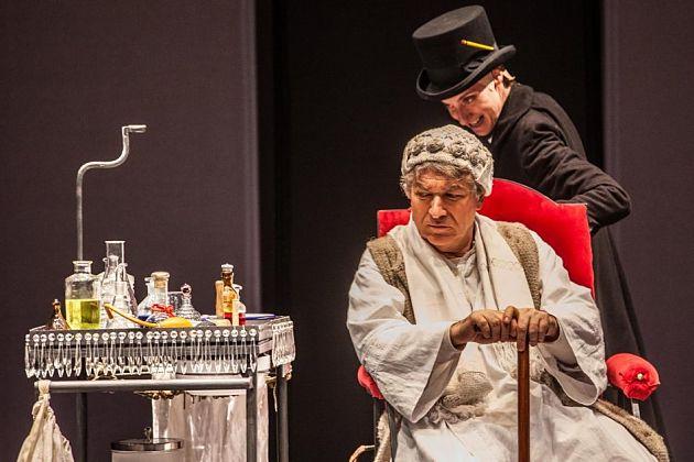 """""""Il malato immaginario"""" al Teatro Eliseo"""