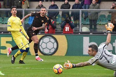 La Roma inciampa a Verona: pareggio a reti bianche col Chievo