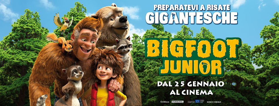 BIGFOOT JUNIOR | Animation movie ecologista e dall'animo indie