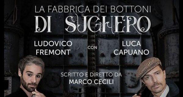 La fabbrica dei bottoni di sughero, il Teatro Marconi di Roma all'insegna del noir