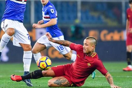 Sampdoria – Roma pari al primo round