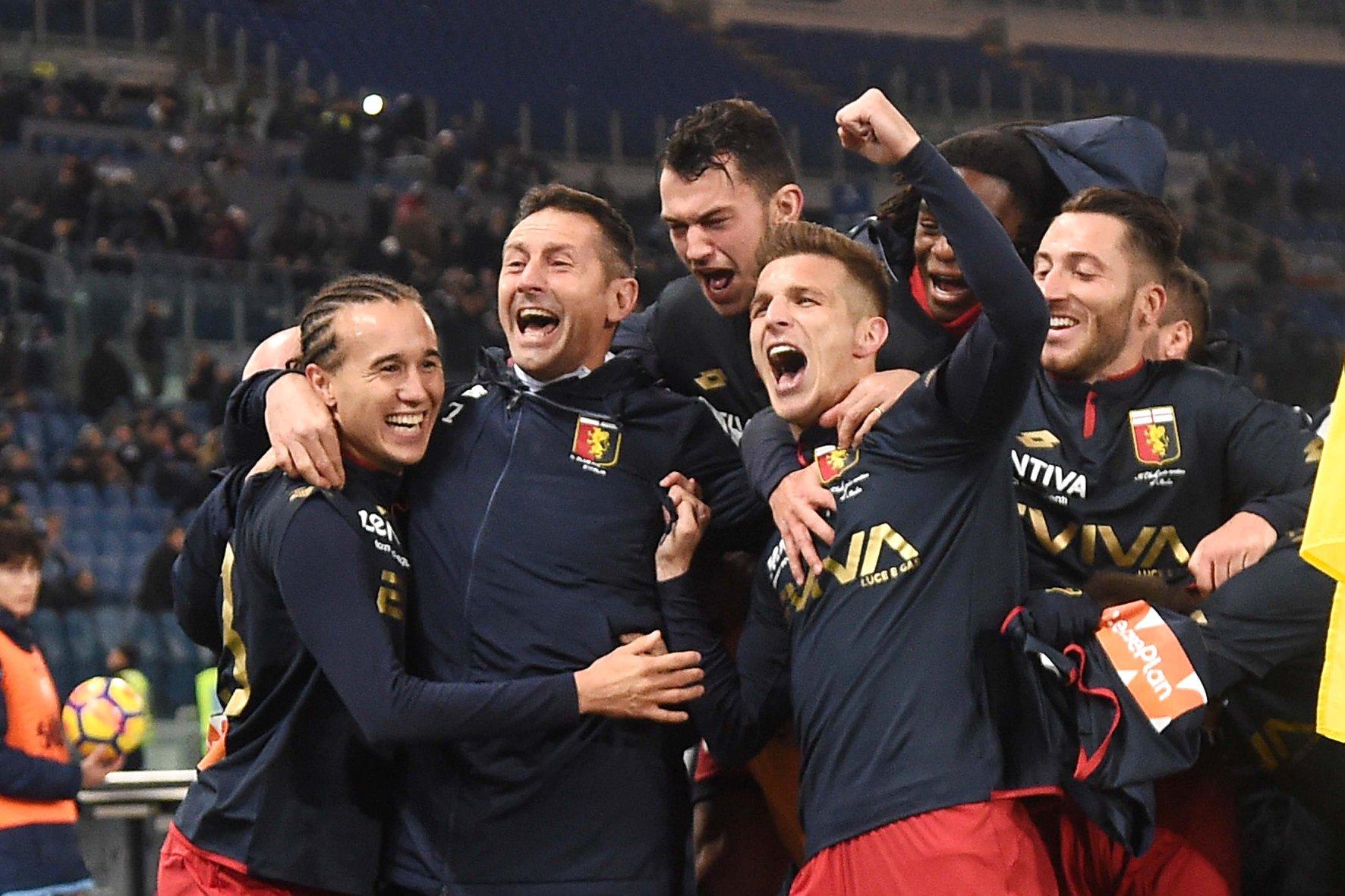 La Lazio si ferma: 2-1 Genoa all'Olimpico