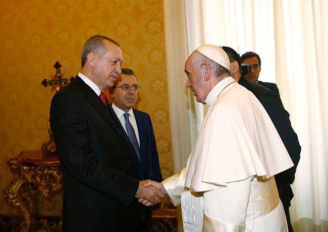 Erdogan in visita a Roma: proteste e scontri