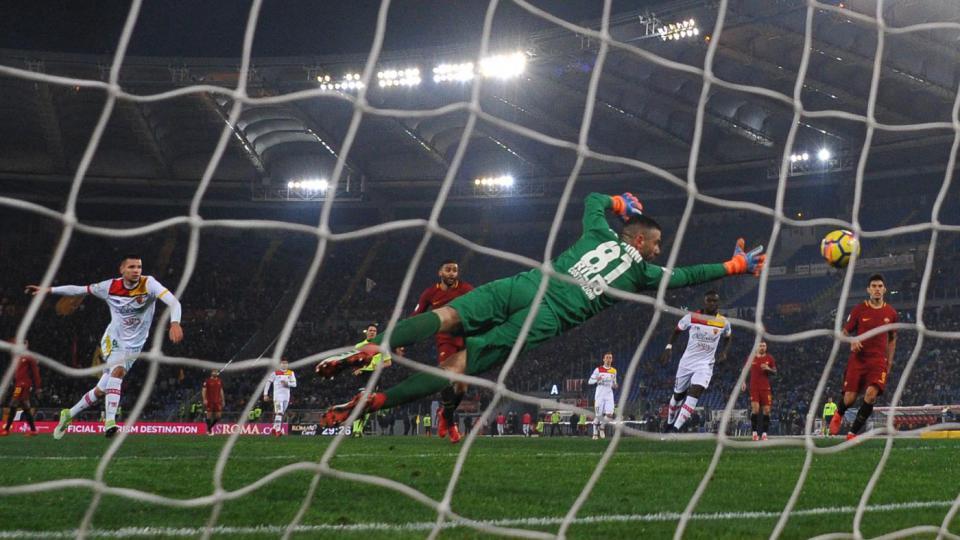 La Roma rischia ma vince: 5-2 al Benevento