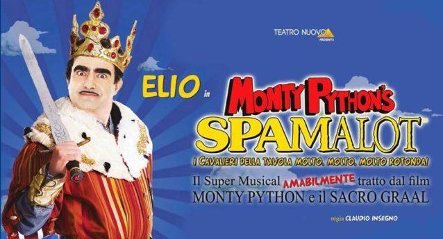 Spamalot, un omaggio ai Monty Python al Teatro Brancaccio fino a domenica 18.