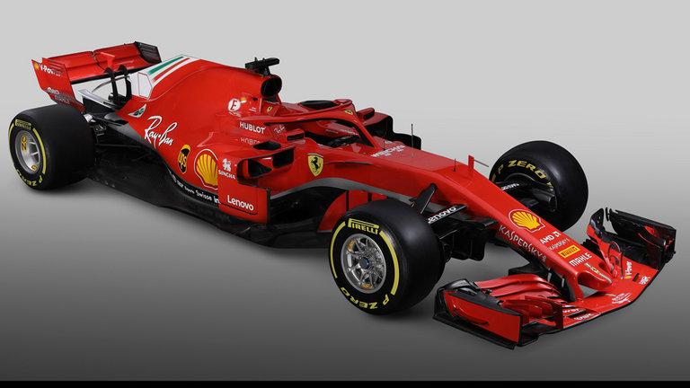 Nuova Ferrari SF71H, rosso totale per la nuova monoposto