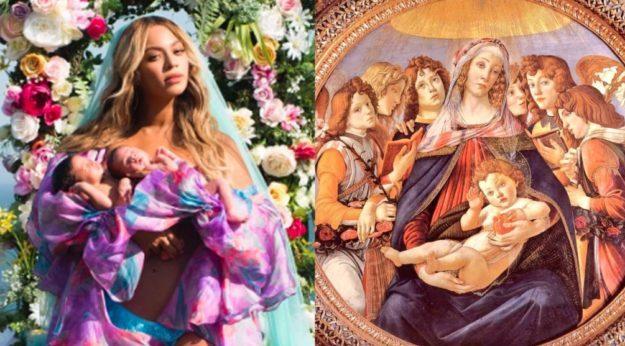 Tabloid Art History, l'account Twitter che mette a confronto le star della cultura pop con le opere d'arte