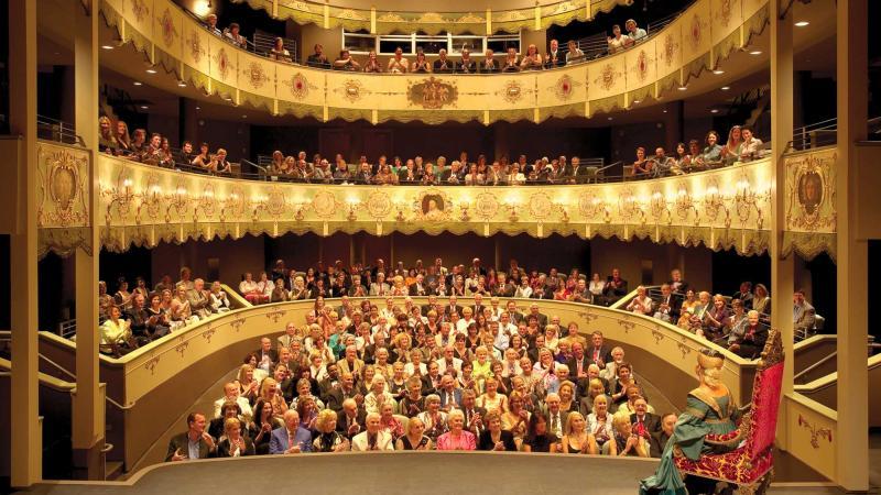 La strana storia del Teatro Duse di Asolo, rinato in Florida, diventa una mostra