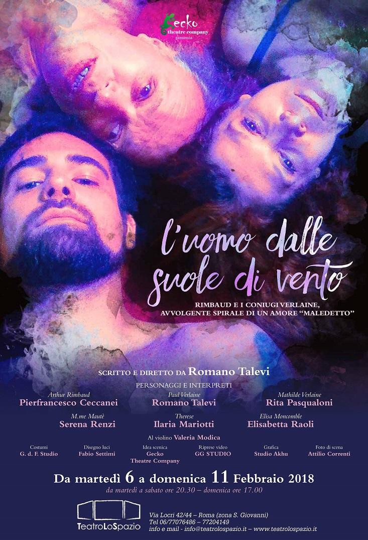 'L'uomo dalle suole di vento' al Teatro Lo Spazio di Roma