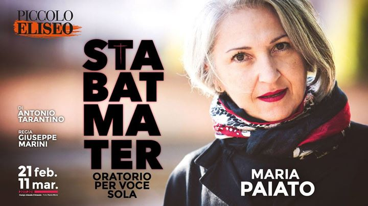 """Stabat Mater"", all'Eliseo la tragedia moderna d'una madre antica"
