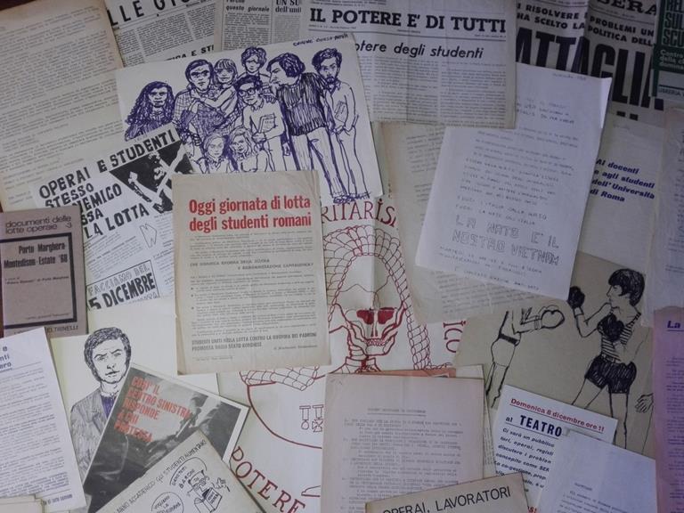 Mostra Il '68 di carta. Intervista alla curatrice Annabella Gioia