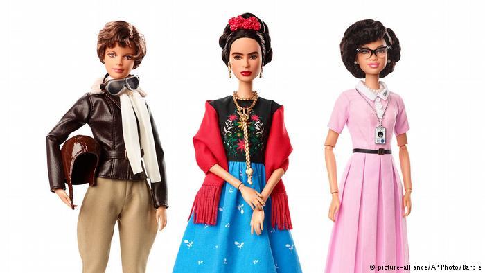 Le nuove bambole Barbie rendono omaggio alle Inspiring Women