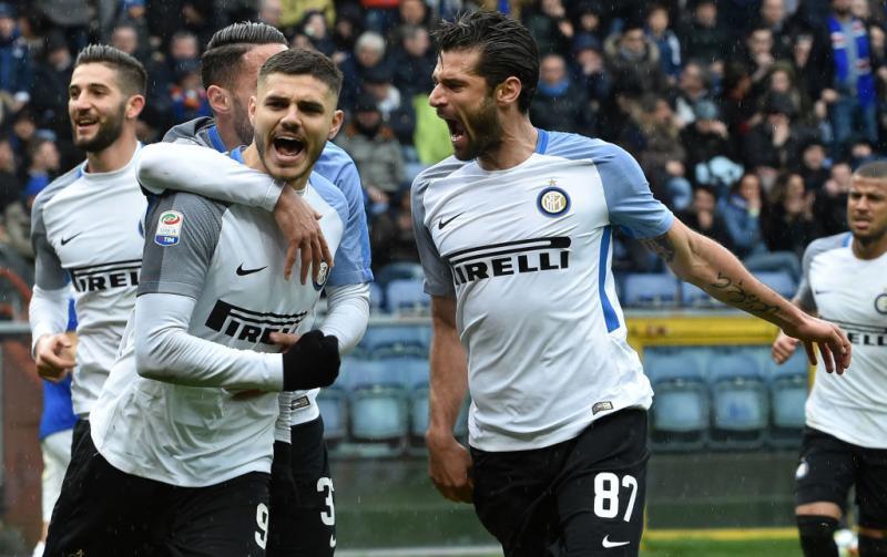 Inter, pioggia di gol alla Samp. Icardi incontenibile.