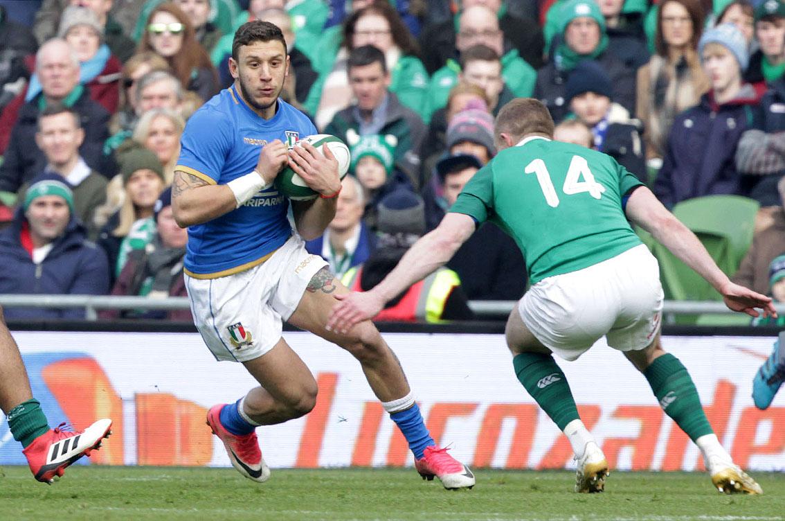 Rugby – L'italia si arrende all'Irlanda