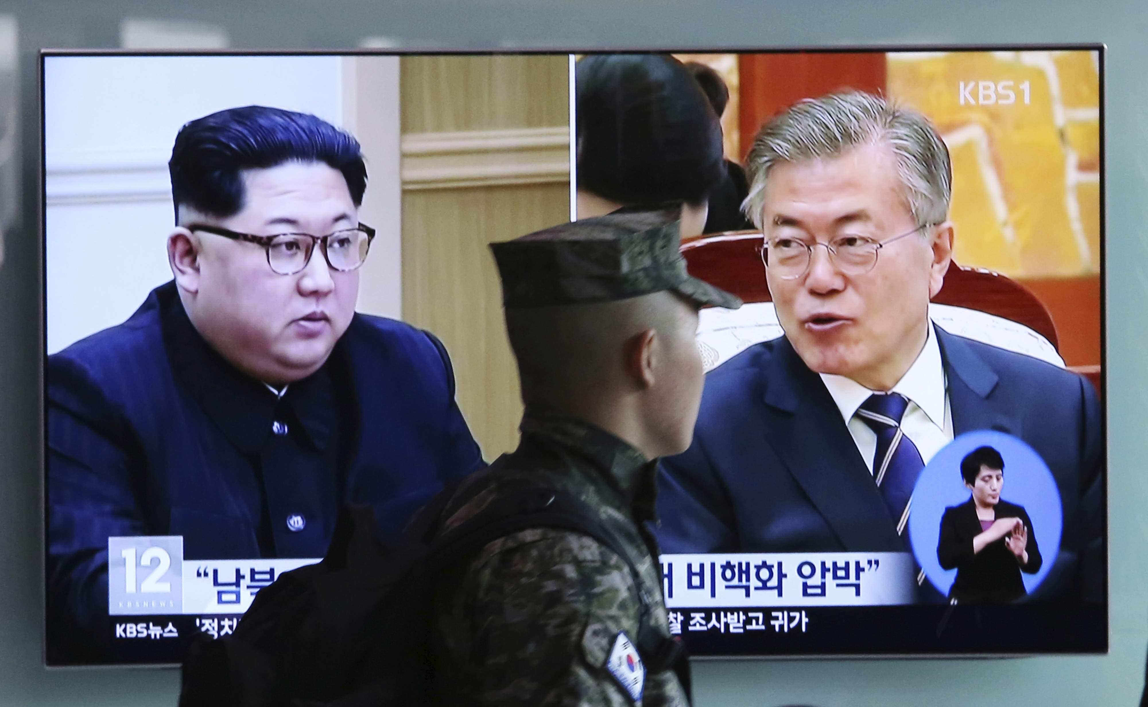 La Corea del Nord sembra accordare importanza alla visita dei rappresentanti del Sud