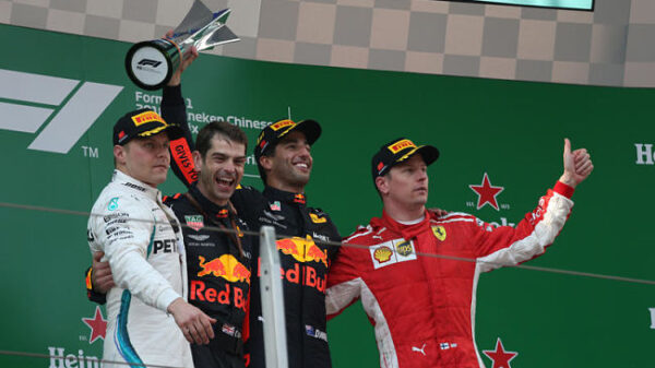 Chinese Grand Prix, Shanghai 12 - 15 April 2018