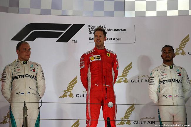 GP Bahrein: Ferrari, splendida follia, Vettel vince ancora