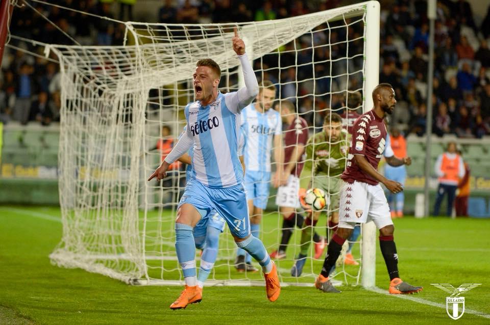 Una capocciata per la Champions: Milinkovic decide Torino-Lazio