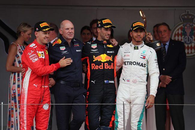 Gp di Monaco: Ricciardo incanta davanti a Vettel ed Hamilton