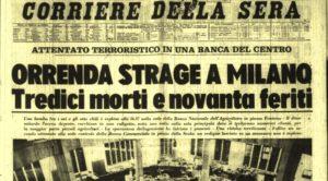 CorSera annuncia la strage a Piazza Fontana