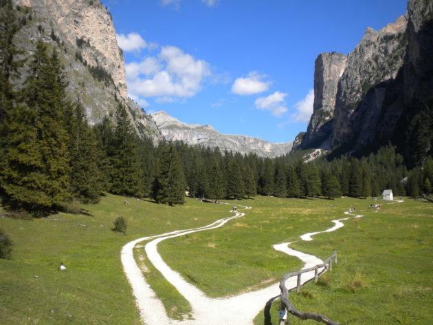VALLUNGA a Selva di Valgardena (Bolzano). Foto di Cinzia  Albertoni