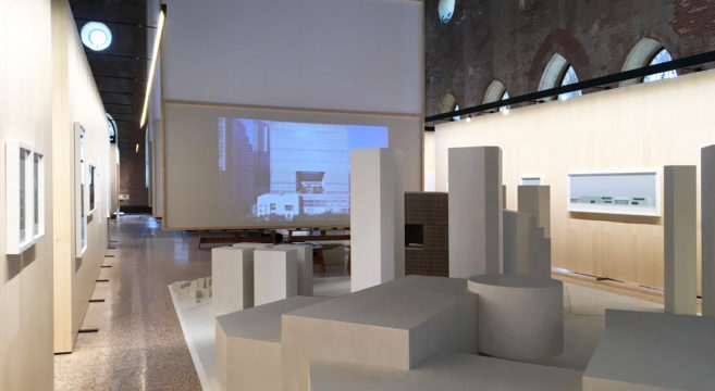 David Chipperfield in mostra a Vicenza