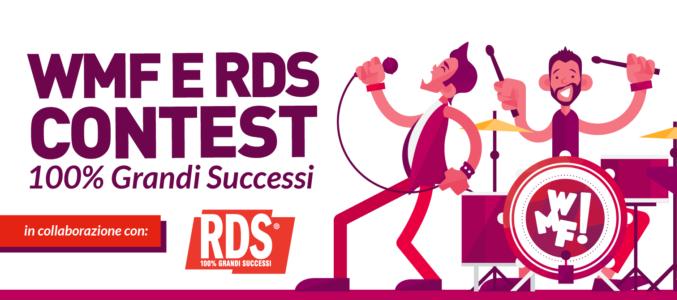 100% Grandi Successi. Al Web Marketing Festival un contest musicale per pop band emergenti con RDS