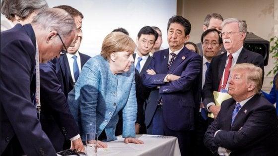 G7: la diplomazia dei tweet e la frattura transatlantica