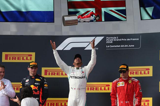 GP di Francia: Hamilton domina su Verstappen e Raikkonen