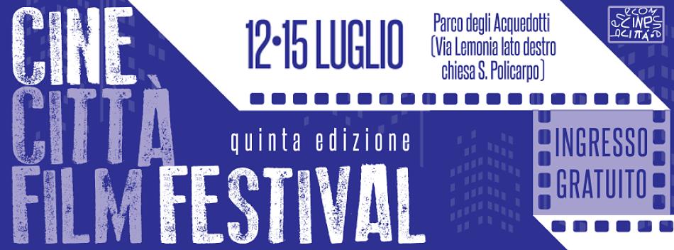 Notti di cinema al Parco degli Acquedotti, torna il Cinecittà Film Festival