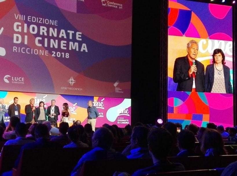 """Al Ciné, Giornate di Cinema di Riccione, Francesco Rutelli: """"Nonostante tutto il cinema in Italia resta vitale, vibrante e forte"""""""