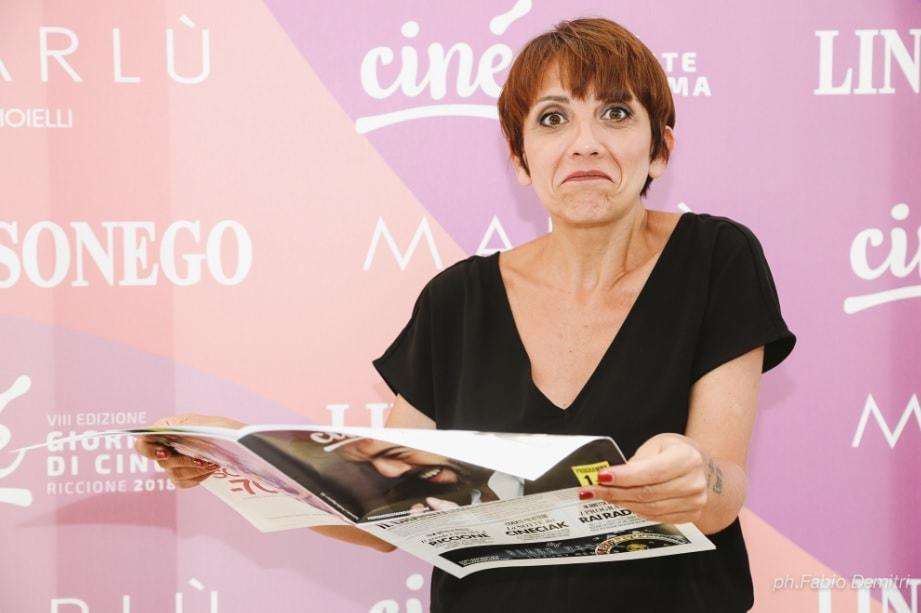Lucia Ocone è il Colpo di Fulmine delle Giornate di Cinema di Riccione
