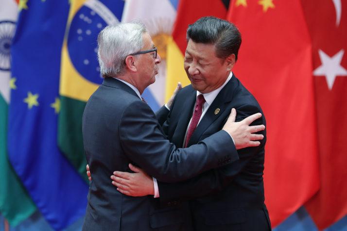 L'Europa guarda alla Cina per contrastare Trump