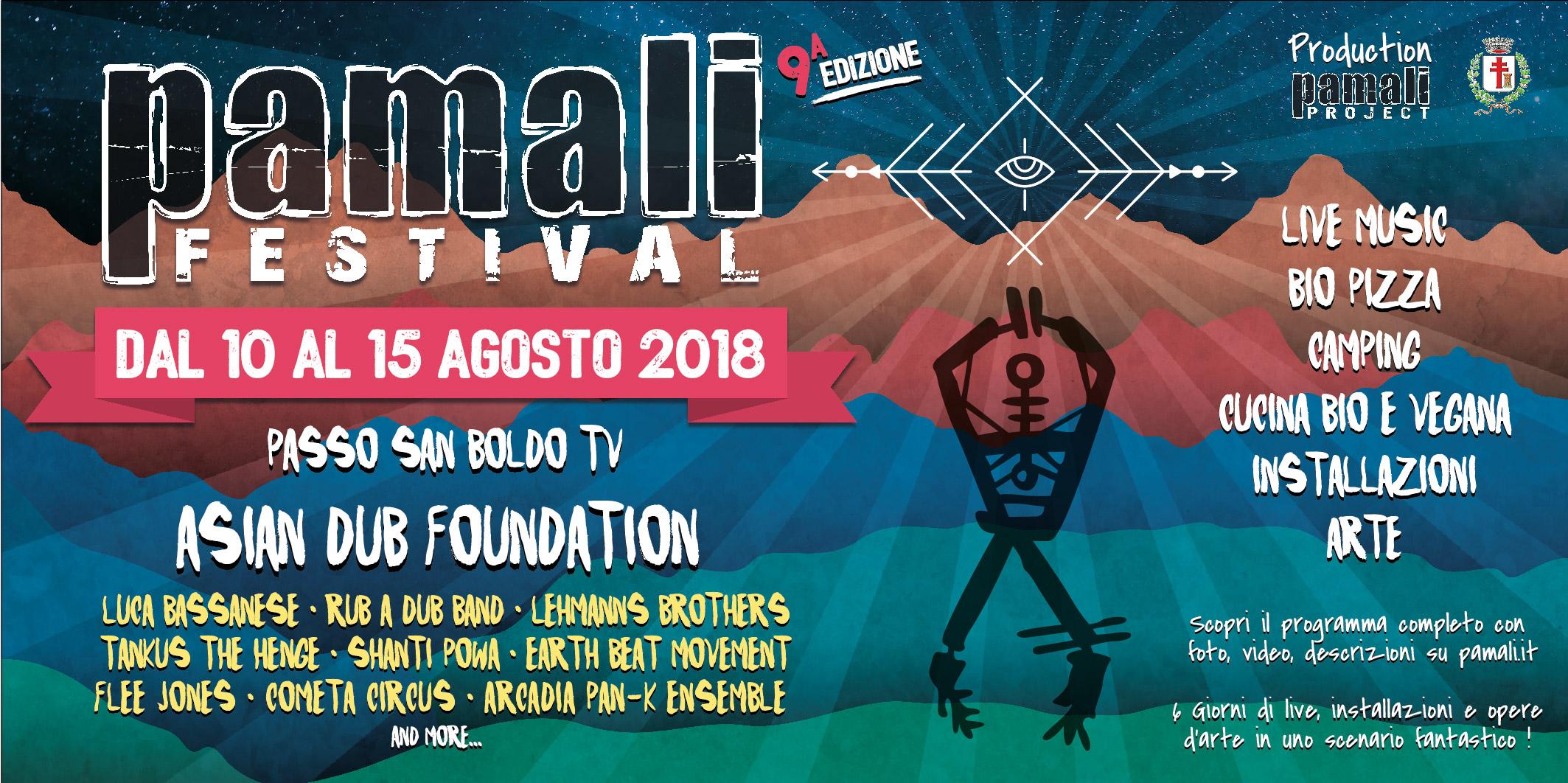 Musica, aggregazione, sostenibilità: in Veneto si può al Pamali Festival