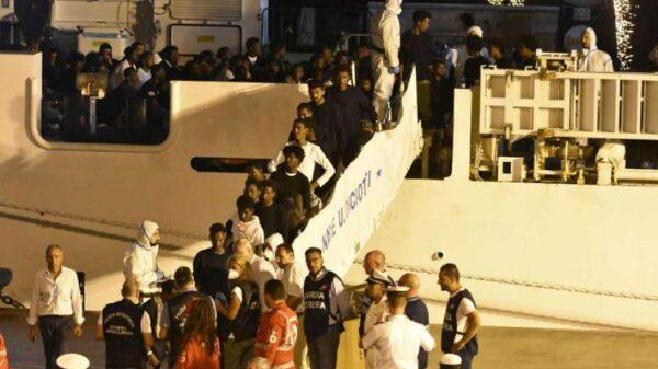 migranti della Diciotti