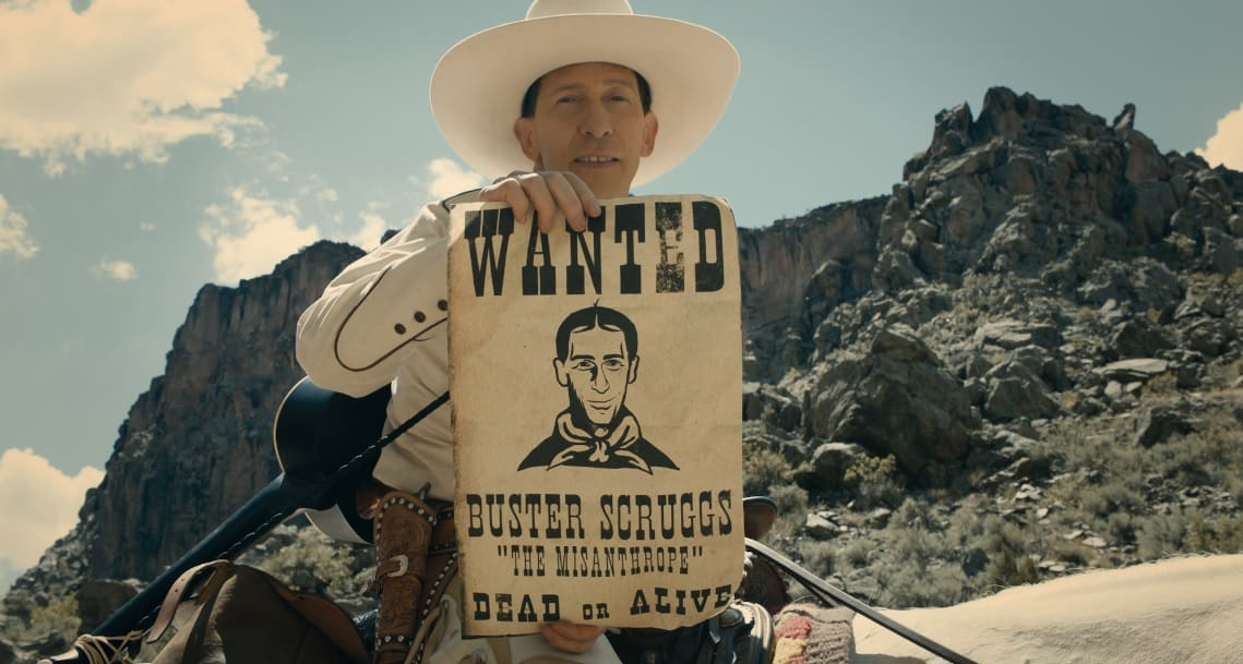THE BALLAD OF BUSTER SCRUGGS  | Le 50 sfumature di western dei Coen