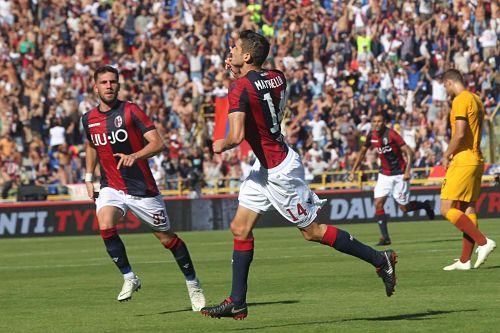 Notte fonda al Dall'Ara: Bologna – Roma 2-0