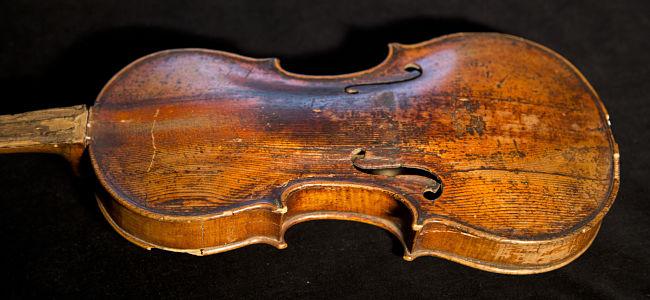 """Il """"piccolo"""" violino Storioni e I cantieri del suono"""