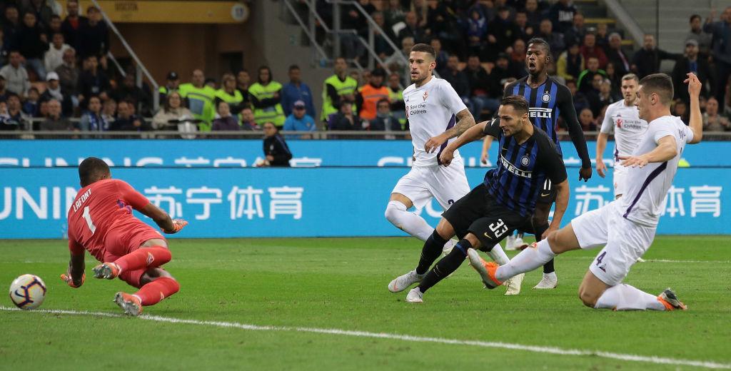 Icardi più, ma decide D'Ambrosio. L'Inter batte la Fiorentina e risale in classifica