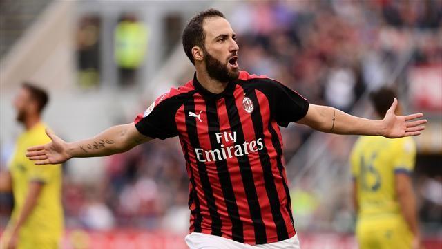 Milan – Chievo 3-1, Higuain trascina i rossoneri